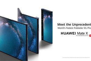 Huawei Mate X màn hình gập công nghệ 5G đã ra mắt