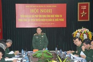 Ứng dụng công nghệ thông tin trong công tác tuyên truyền nhiệm vụ quân sự quốc phòng