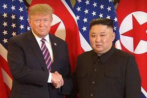 Lãnh đạo Mỹ - Triều phát biểu đầy lạc quan sau cái bắt tay lịch sử tại Hà Nội