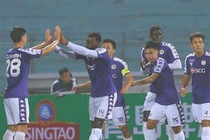 Hà Nội FC thắng kỷ lục, B.Bình Dương chia điểm trước đối thủ
