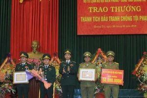Quảng Trị: Thưởng nóng cho Ban chuyên án bắt đối tượng vận chuyển 94.000 viên ma túy