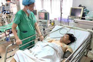 Cứu sống chàng trai bị tai nạn vỡ gan mà không phải phẫu thuật