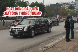 Hoạt động đầu tiên của Tổng thống Donald Trump tại Việt Nam