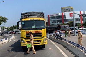 Lại xảy ra tai nạn chết người liên quan xe tải ở giao lộ cầu Tiên Sơn