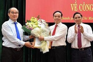 Bí thư Tỉnh ủy Tây Ninh giữ chức Phó Bí thư Thường trực Thành ủy TP. HCM
