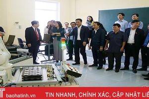 Cao đẳng Công nghệ Hà Tĩnh linh động trong đầu tư thiết bị, đào tạo học viên