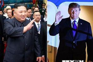 Tổng thống Trump: Mỹ, Triều Tiên nỗ lực trong vấn đề phi hạt nhân hóa