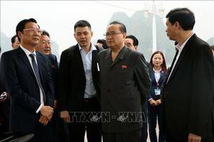Đoàn đại biểu Lãnh đạo cấp cao Đảng Lao động Triều Tiên thăm quan Di sản Thiên nhiên Thế giới vịnh Hạ Long