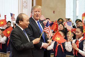 Tổng thống Donald Trump cảm ơn Việt Nam tổ chức chu đáo Hội nghị thượng đỉnh Mỹ-Triều
