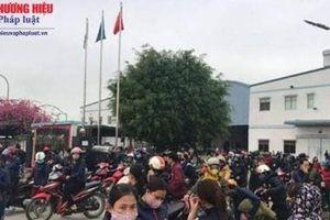 Nghệ An: Hàng nghìn công nhân nghỉ việc phản đối công ty giảm phụ cấp