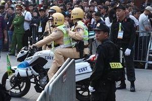 Lực lượng Công an tập trung cao độ bảo đảm an ninh Hội nghị thượng đỉnh Mỹ - Triều