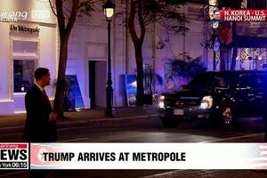 Ông Trump 'đáp lễ', đến cuộc gặp trước ông Kim Jong-un