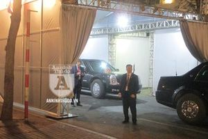 Hình ảnh đặc biệt về đặc vụ Mỹ và Công an Việt Nam quanh điểm Tổng thống Trump gặp Chủ tịch Kim Jong-un