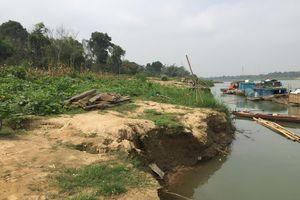 Thanh Hóa: Đất sản xuất đang bị sạt lở nghiêm trọng