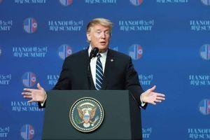 Tổng thống Trump: Mỹ chưa thể gỡ bỏ hoàn toàn các lệnh trừng phạt đối với Triều Tiên
