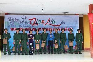 Công đoàn động viên 72 CNLĐ tham gia nghĩa vụ quân sự