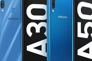Galaxy A50 và A30 màn hình bự, pin khủng bắn phá thị trường tầm trung