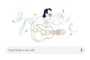 Cố nhạc sĩ Trịnh Công Sơn là người Việt đầu tiên được Google Doodles vinh danh