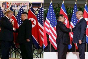 Giải mã ngôn ngữ cơ thể của ông Trump và ông Kim