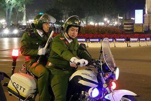Cảnh sát trắng đêm giữ an ninh khu vực diễn ra hội nghị Mỹ - Triều