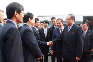 Đoàn đại biểu Đảng Lao động Triều Tiên tham quan và làm việc tại Hải Dương