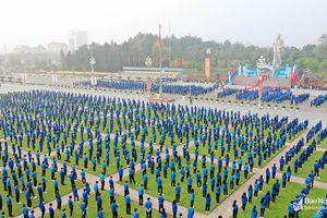 Gần 5.500 đoàn viên thanh niên tham gia lễ khởi động 'Tháng Thanh niên' 2019