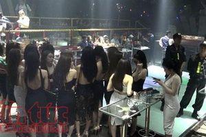 Phát hiện 95 thanh niên dương tính với ma túy trong quán bar Gossip Thiên Văn