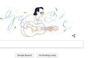 Sinh nhật cố nhạc sĩ Trịnh Công Sơn 28/2: Google tiếng Việt đổi Doodle