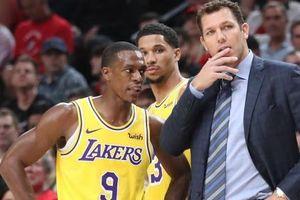 Rajon Rondo gặp HLV trưởng Luke Walton nhằm vực dậy Lakers