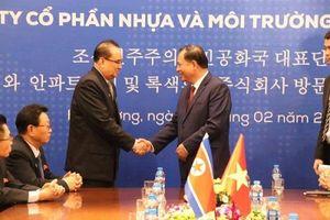 Nhà máy An Phát vinh dự đón đoàn lãnh đạo cấp cao Triều Tiên đến thăm