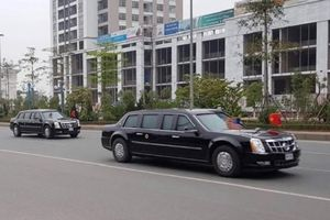 Kết thúc thượng đỉnh Mỹ - Triều, Tổng thống Donald Trump rời Hà Nội