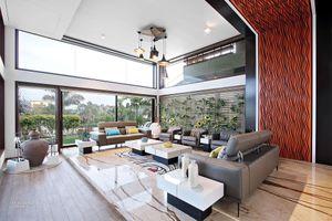 Phòng khách đẳng cấp với nội thất hiện đại