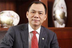 Tỷ phú Phạm Nhật Vượng rời ghế Chủ tịch HĐQT Vinhomes