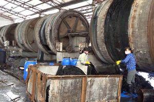 Ô nhiễm nghiêm trọng từ nhà máy sản xuất da