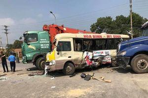 Bắt tạm giam lái xe tải gây tai nạn khiến 2 người chết trên Đại lộ Thăng Long