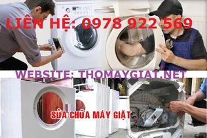 Địa chỉ sửa máy giặt uy tín tại Tây Hồ - Hà Nội