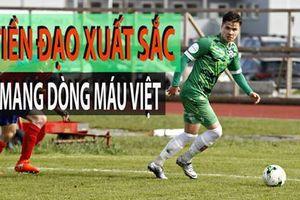 Tài săn bàn của tiền đạo gốc Việt đang thi đấu ở Na Uy