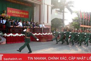 Lực lượng vũ trang Hà Tĩnh ra quân huấn luyện năm 2019