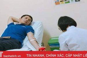 15 năm làm công tác Đoàn, 22 lần hiến máu nhân đạo