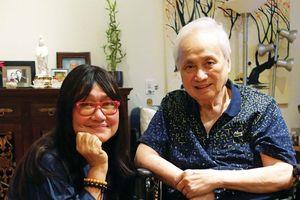 Nghệ sĩ Diệp Lang và nhạc sĩ Lam Phương và những hồi ức dở dang