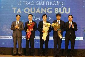 8 nhà khoa học được đề cử xét tặng Giải thưởng Tạ Quang Bửu năm 2019