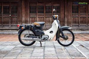 Cận cảnh Honda Super Cub C70 'Dame' nguyên bản tại Hà Nội