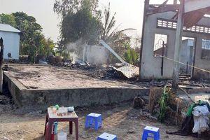 Bạc Liêu: Cháy lớn thiêu rụi 3 căn nhà, 1 người tử vong