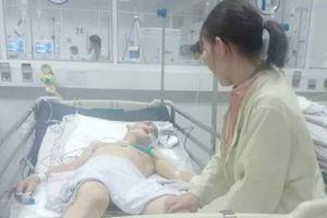 Xông vào cuộc hỗn chiến, một người bị đánh chấn thương sọ não