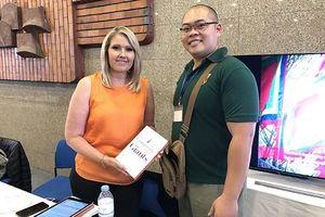 Truyền cảm hứng về sự vươn lên của doanh nhân Việt với các nhà báo quốc tế