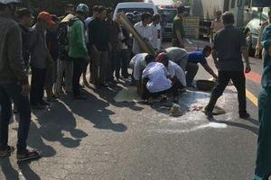 Đi bộ cũng bị ô tô khách tông tử vong