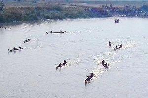 2 em nhỏ mất tích khi tắm trên sông Đắk Bla