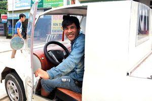 Chiếc bán tải tự chế 2 chỗ ngồi của chàng cơ khí miền núi Nghệ An