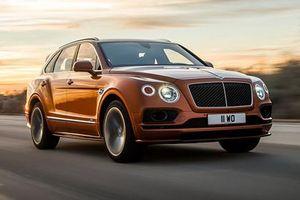 Bentley Bentayga Speed đánh bại Lamborghini Urus