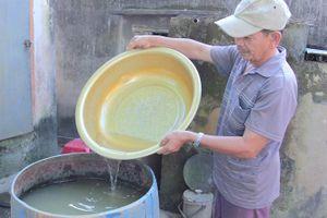 Bình Định: Dân 'khát' nước sinh hoạt dù mùa khô chưa tới